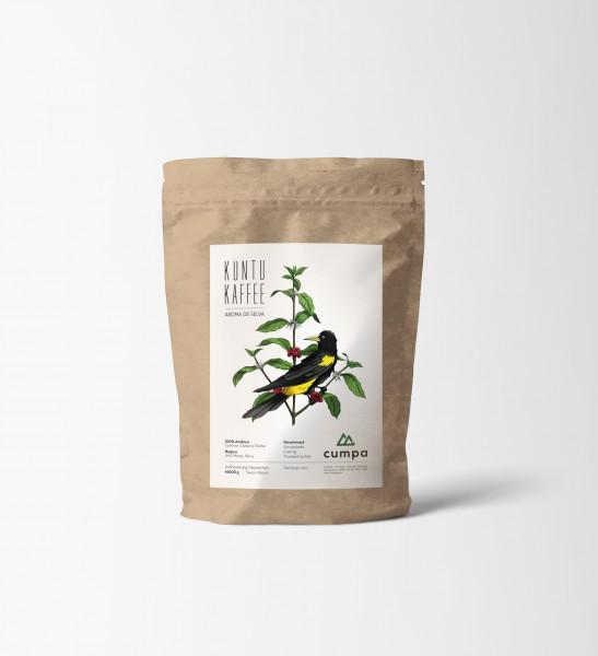 Kuntu Kaffee von cumpa, Kaffeebohnen 1000g