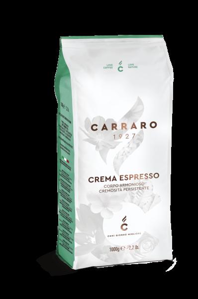 Carraro 1927 crema Espresso italienische Kaffeebohnen 1000g