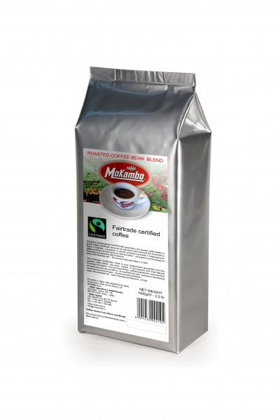 Mokambo Fairtrade Mischung Kaffeebohnen 1000g