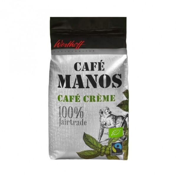 BIO-Fairtrade-Café Manos Crème - Inhalt 1000g