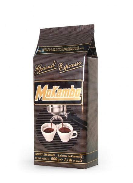 Mokambo grande espresso - 100 % Arabica Kaffeebohnen 500g