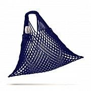 tschechische Netztasche , Volumen 25 L dunkelblau - Handarbeit