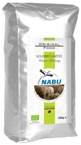 Nabu Kaffeebohnen Bio wiener Röstung Kaffeebohnen 250g