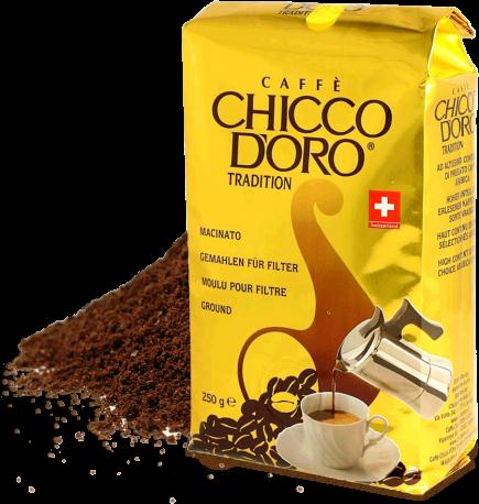 Chicco d'Oro Tradition - gemahlen für Filterkaffee 250g