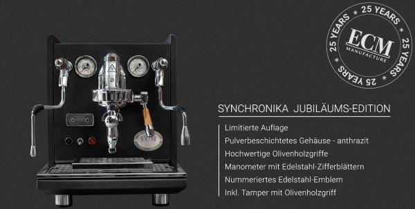 ECM Synchronika Dual-Boiler PID Sondermodel limitiert anthrazit