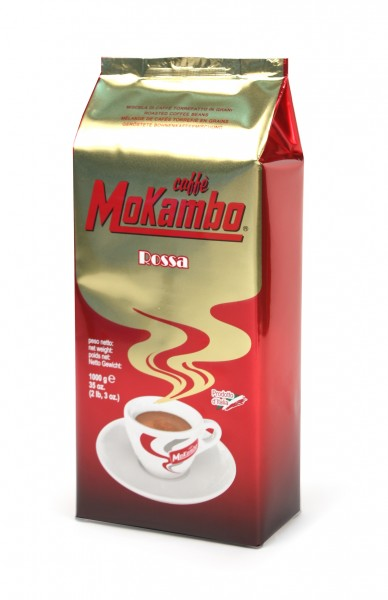 Mokambo rossa - hochwertige Kaffeebohnen 1000g