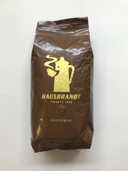 Hausbrandt Super Bar Kaffee Espresso, Kaffeebohnen 1000g