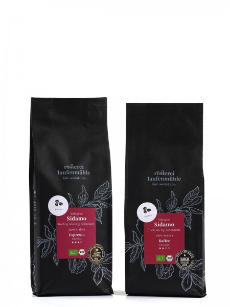 El Molimillo Äthiopien Sidamo Kaffeebohnen 250 g