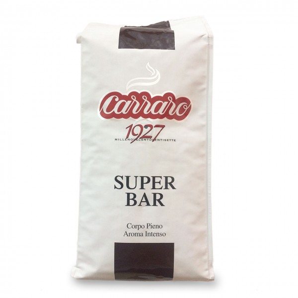 Carraro Super Bar Kaffeebohnen 1000g