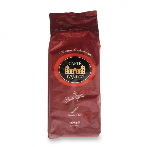 Caffe L'Antico rosso ( rot ) , Kaffeebohnen 1000g