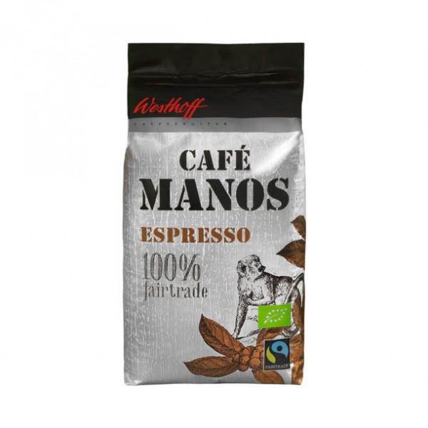 Westhoff BIO-Fairtrade-Café Manos Espresso - Inhalt 1000g