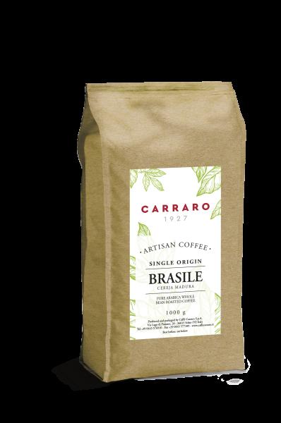 Carraro Manufaktur Kaffee Brasile single Origin 1000g