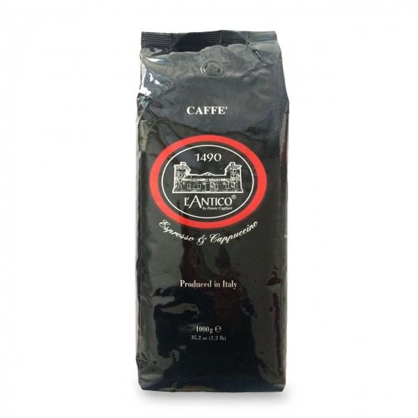 Caffe l'Antico nero, 100 % Arabica, Kaffeebohnen 1000g