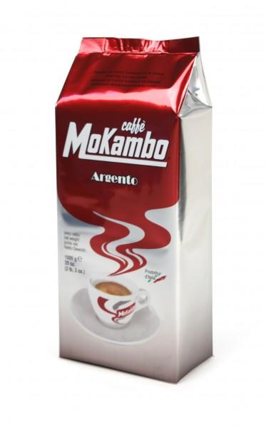 Mokambo argento Kaffeebohnen Inhalt 1000g