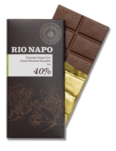 RIO NAPO, Bio-Schokolade, 40%, Inhalt 70g