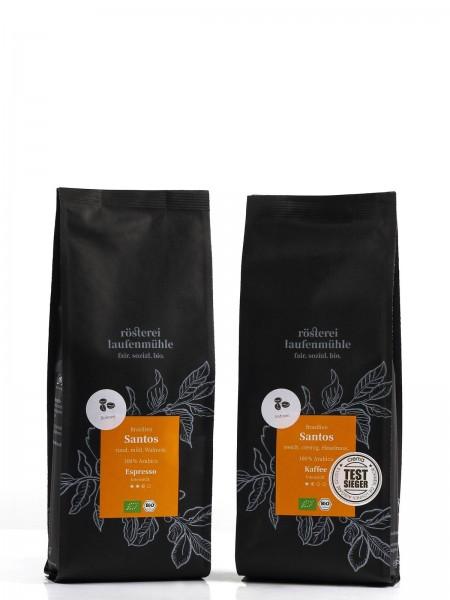 El Molinillo Brasilien Santos Bio Espressobohnen 250g